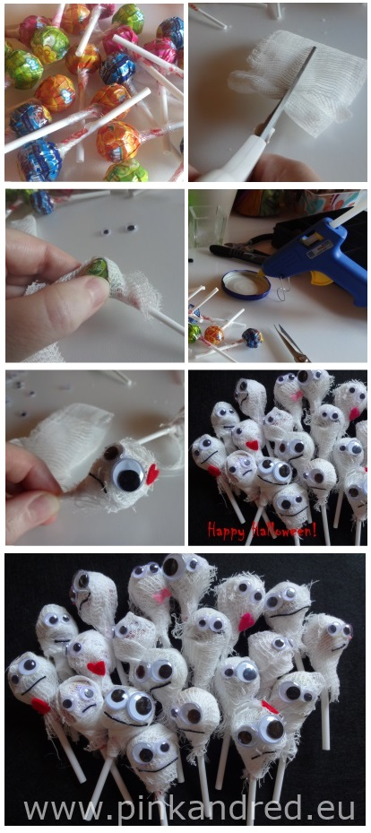 halloween mummies tutorial